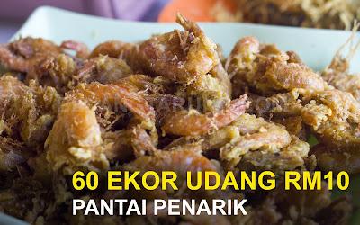 60 Ekor Udang Celup Tepung RM10