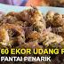 60 Ekor Udang Celup Tepung RM10 Viral Di Restoran King Trizai Celup Tepung Pantai Penarik