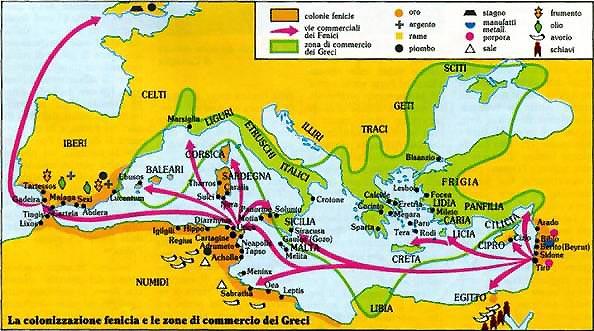 Cartina Geografica Dei Fenici.Sanremo Mediterranea Antichi Liguri A Tartesso Prima Di Fenici E Greci