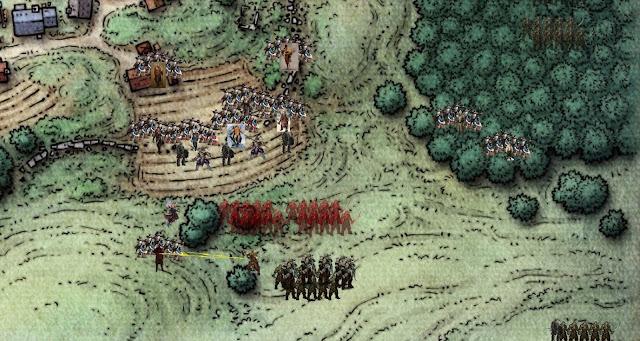 Orc leader throws lightning javelin in Phandalin