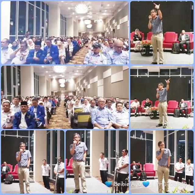 Rocky Gerung Sedot Perhatian Pendukung Prabowo-Sandi di Kuala Lumpur