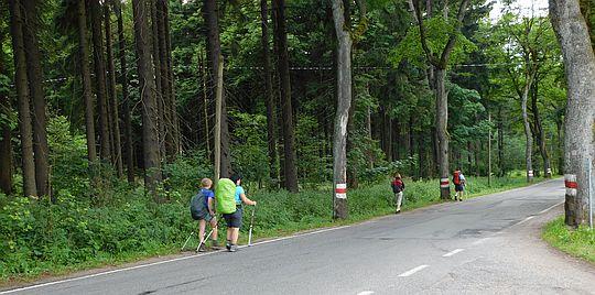 Droga Stu Zakrętów.