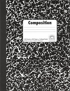 This is a screenshot of a composition notebook.