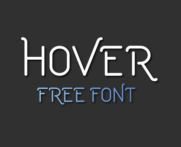 Download Font Terbaru 2018 - Hover Free Font