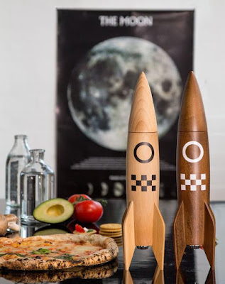 Salt and Pepper Rocket Mill