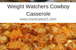 Weight Watchers Cowboy Casserole