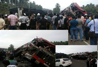 Two killed, 35 injured due to accident in Pasyala