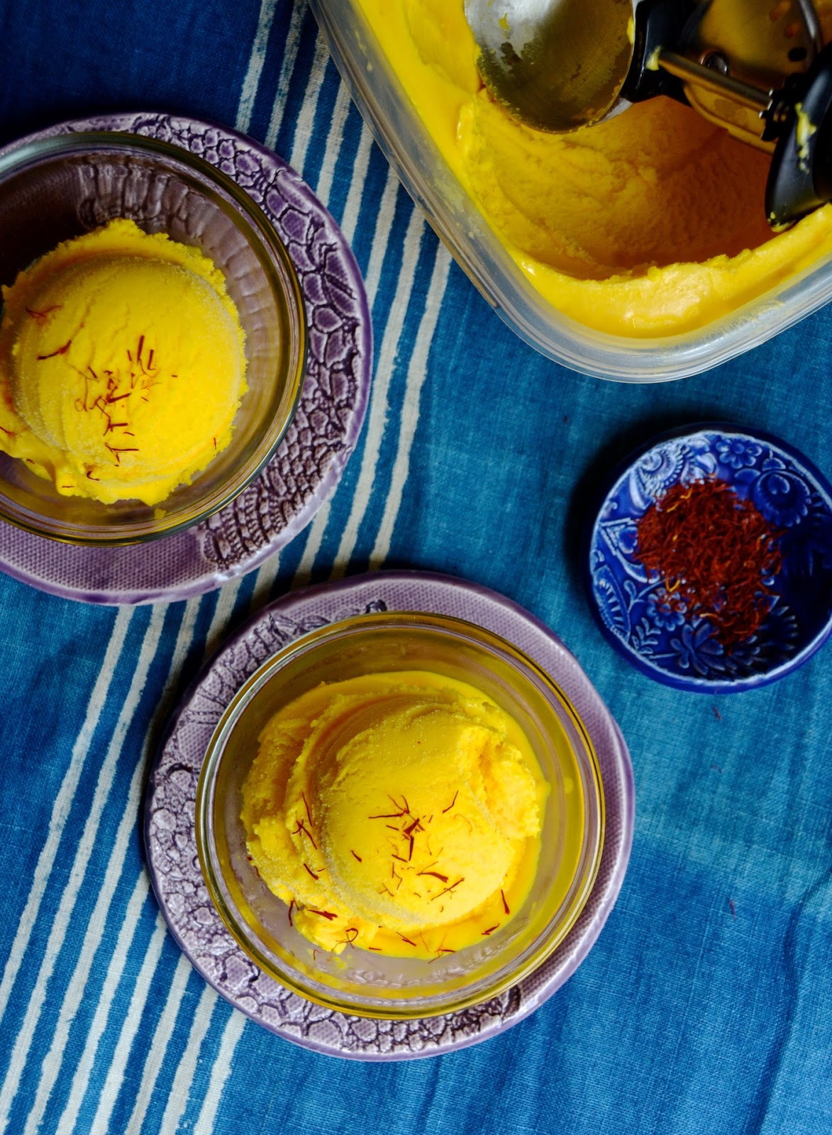 Mango Saffron Ginger Ice Cream Always Order Dessert Threads And It Of Course Works Particularly Well With Mangoes The Combination Is Hardly A New One As Its Quite Popular Throughout Many Parts