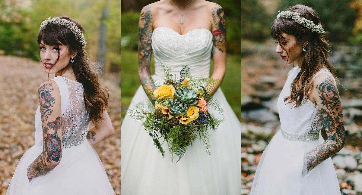 Noivas tatuadas | 187 tons de frio