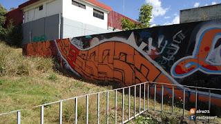 imagen de graffitis en México
