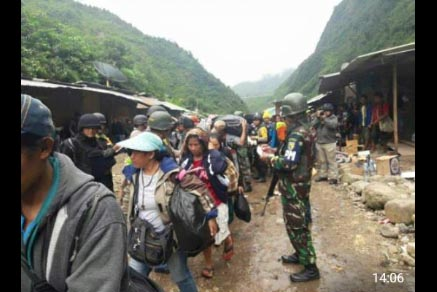 TNI dan Polisi Kuasai 2 Kampung yang Sempat Disandera Kelompok Pemberontak OPM