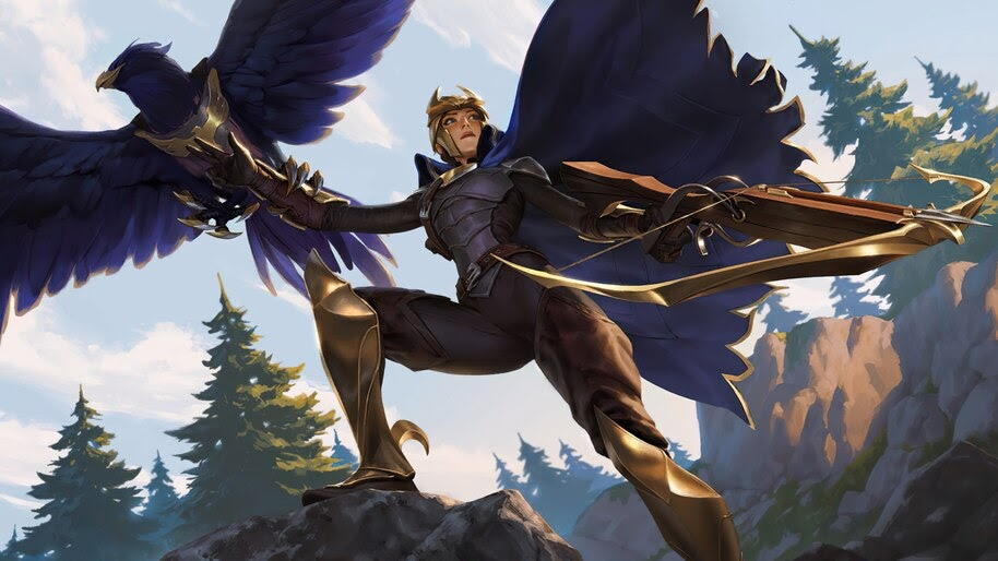 Quinn, Legends of Runeterra, 4K, #7.1846