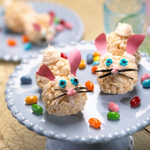 It 39 s written on the wall 20 easter rice krispies treats for Different ways to make rice krispie treats