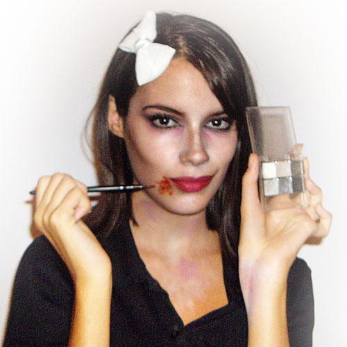 maquillaje zombie mujer paso 10 monika sanchez guapa al instante