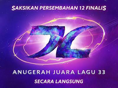 logo AJL 33 yang dimenangi oleh Hael dan Dayang
