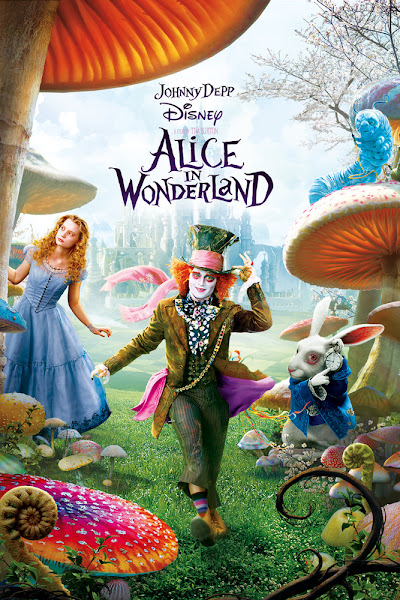 Poster Of Alice In Wonderland 2010 English 720p BRRip Full Movie Download