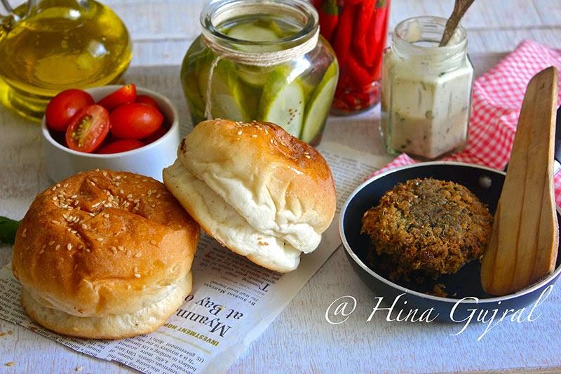 Roasted Mushroom too Vegetable Burger Recipe Roasted Mushroom too Vegetable Burger Recipe