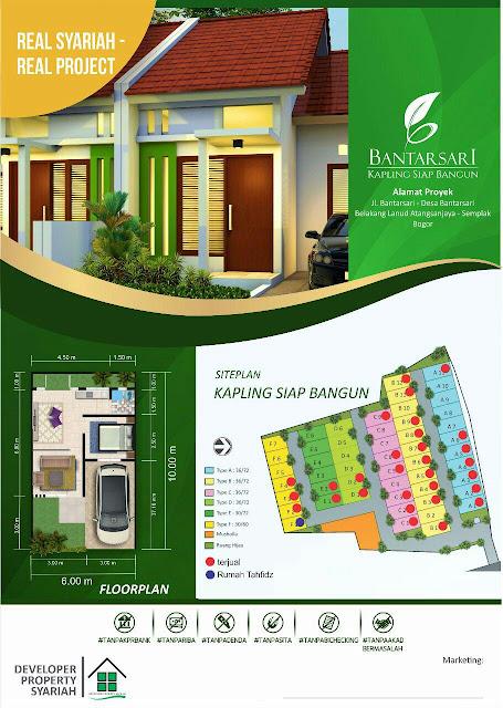 Perumahan di Bogor Batarsari Residence