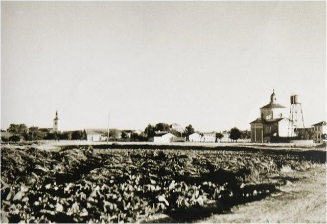 leganes_bn_V_Abuelohara_años40_las_dos_iglesias