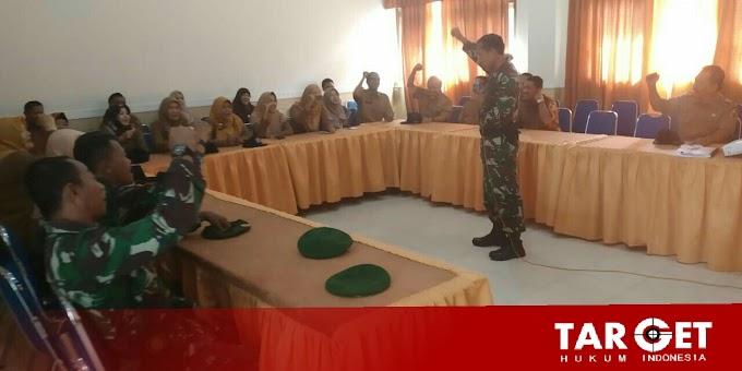 Siswa dan Guru SMPN 01 Mendapatkan Wawasan Kebangsaan Oleh Danramil Juwana