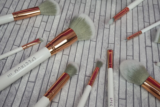 some of the white marbleous brushes