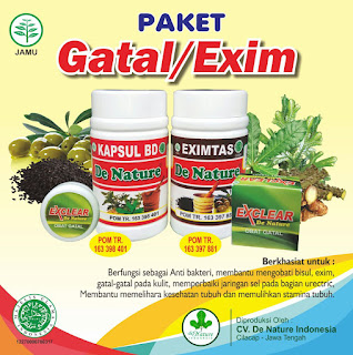 Obat eksim herbal alami denature indonesia