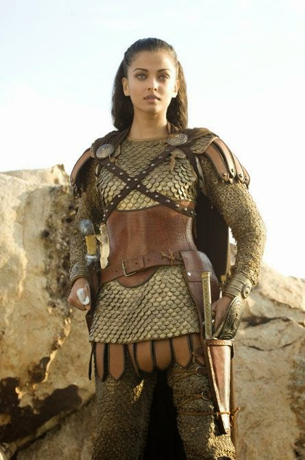 Aishwarya Rai As A Warrior