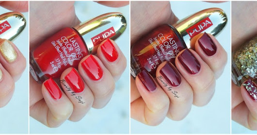♚ PUPA Red Queen Nail Polishes ♚