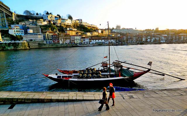 Cidade do Porto, Portugal: um rabelo, embarcação típica do Rio Douro