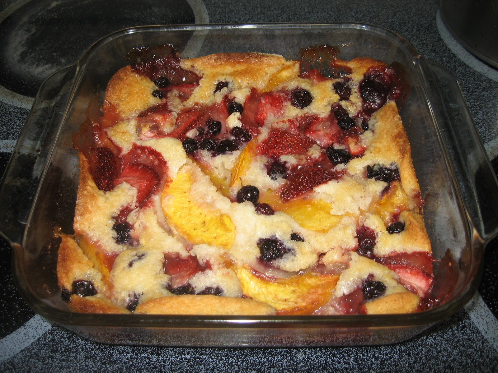 Parentwin Recipe Monday Fruit Cobbler