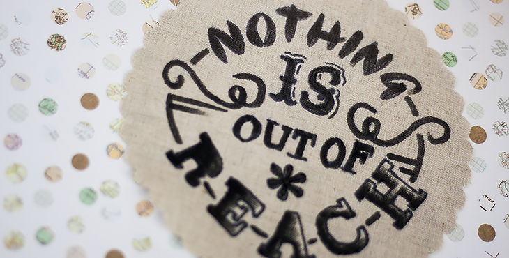 Typografie-Geschenke selber machen (DIY). Foto © fieberherz.de