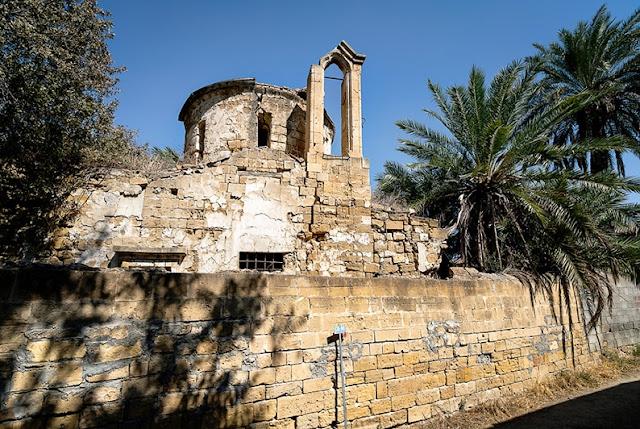 Rain destroys 16th century church in Nicosia's buffer zone