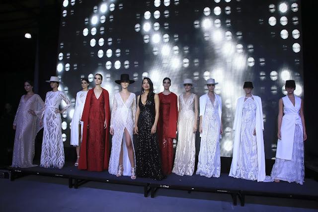 fashion, moda, caras moda, desfile caras moda, gala caras moda, Maria Gorof, Adrian Brown, Fabian Zitta, estilo, looks caras moda, revista caras, mejores looks caras moda, July Latorre, luxe