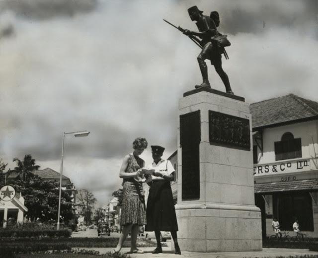 Historia ya Sanamu ya Askari, Dar es Salaam