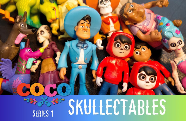 Pixar Coco Skullectables Series 1 Blind Bag Figures