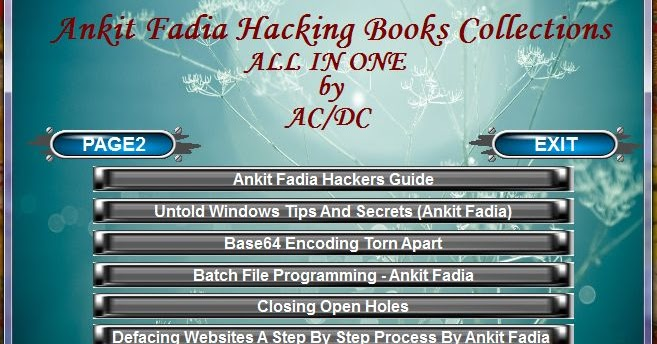 windows hacking by ankit fadia ebook