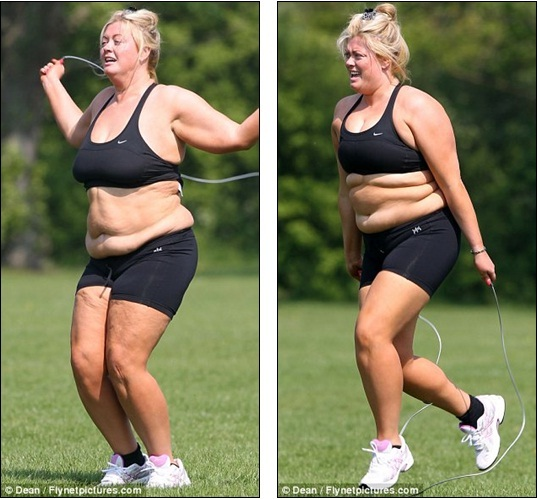 c5b6309083 So when is the fitness DVD coming out  TOWIE s Gemma Collins hits ...