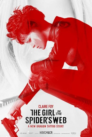 Poster The Girl In The Spiders Web 2018 900Mb Hindi Dual Audio ORG 720p