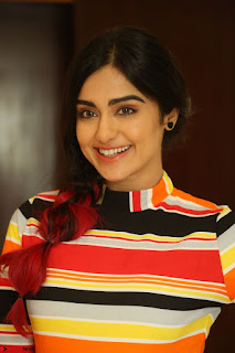 Adha Sharma in a Cute Colorful Jumpsuit Styled By Manasi Aggarwal Promoting movie Commando 2 (122).JPG