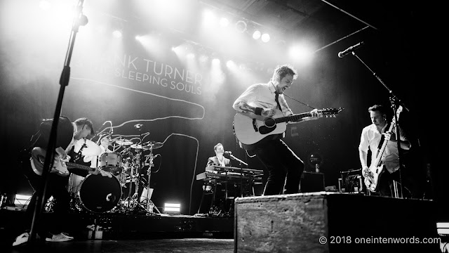 Frank Turner and The Sleeping Souls at The Phoenix Concert Theatre on September 20, 2018 Photo by John Ordean at One In Ten Words oneintenwords.com toronto indie alternative live music blog concert photography pictures photos