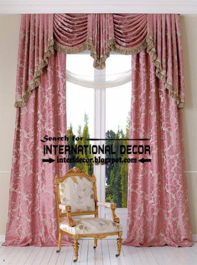 Luxury Pink Patterned Curtains And D Door 2017