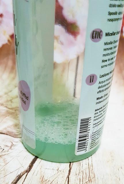 Nacomi płyn micelarny do delikatnego demakijażu