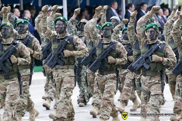 Εντυπωσίασε η Εθνική Φρουρά στην στρατιωτική παρέλαση της 1ης Οκτωβρίου στην Κύπρο. (ΦΩΤΟ)