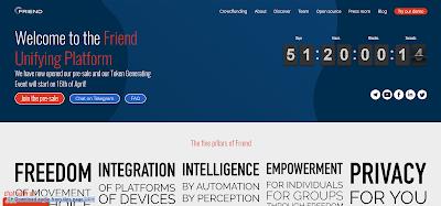 FriendUPCloud منصة سحابية موحدة بتقنية البلوكشي