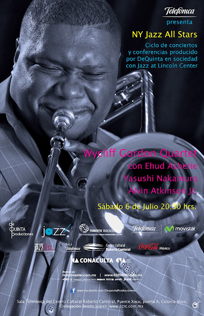 El ciclo New York Jazz All Stars presenta a Wycliffe Gordon en concierto