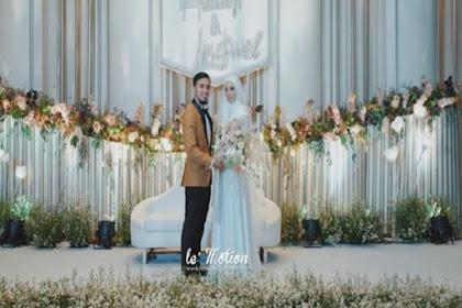 Suasana Pernikahan Lindswell Kwok dan Ahmad Hulaefi yang Indah