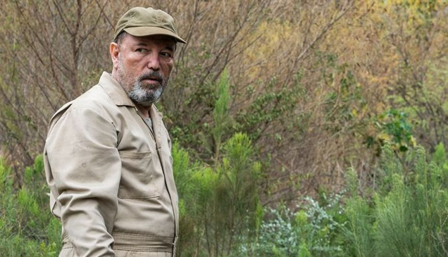 Daniel Salazar en el episodio cuatro de la tercera temporada de Fear The Walking Dead