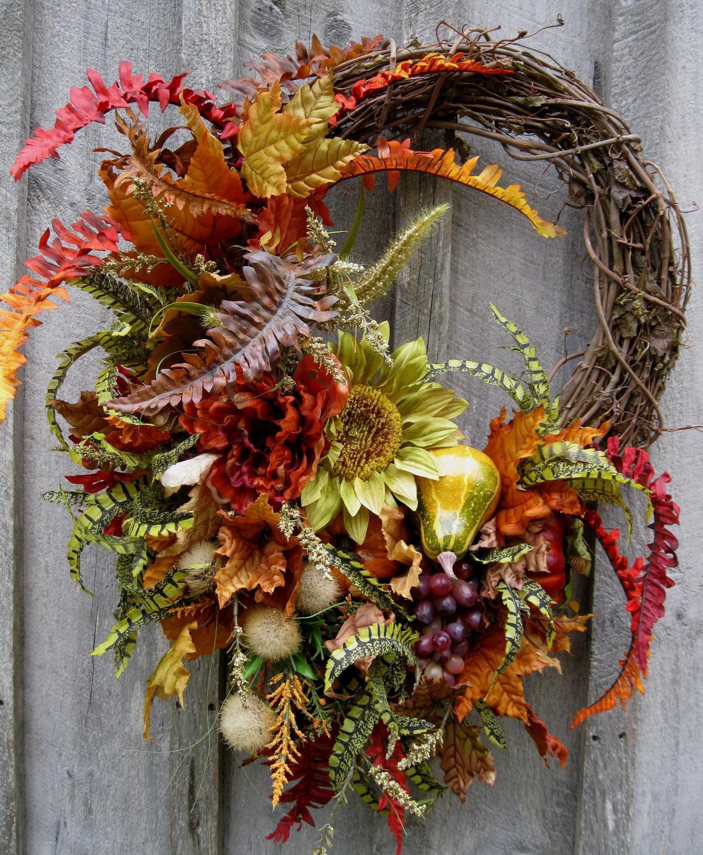 Beautiful Autumn Wreaths October 3, 2016