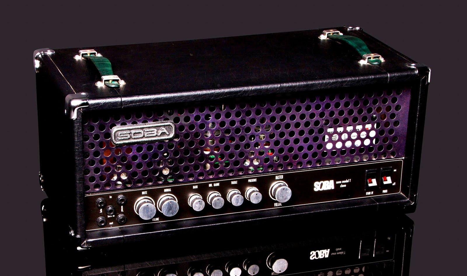 Soba Audio: Vintage Tweed Series Guitar Amp Head and Cabin