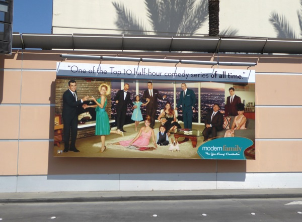 Modern Family 2016 Emmy nomination billboard